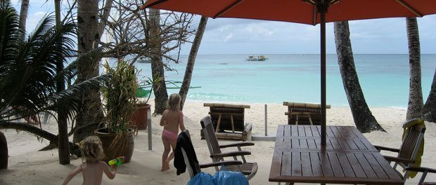 luksus ophold på boracay ved stranden