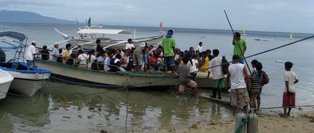 de indfødte sejler ind 1. juledag