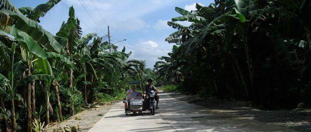 turen med lokal transport