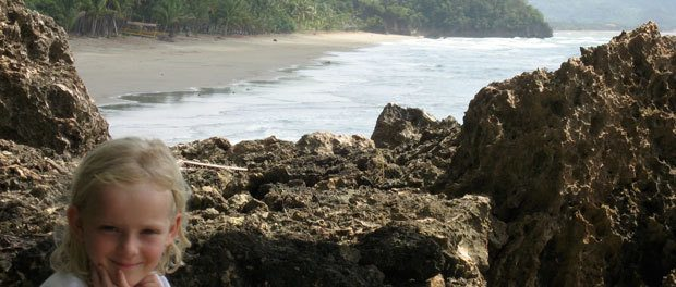 god tur i klipperne med god udsigt over sipalay