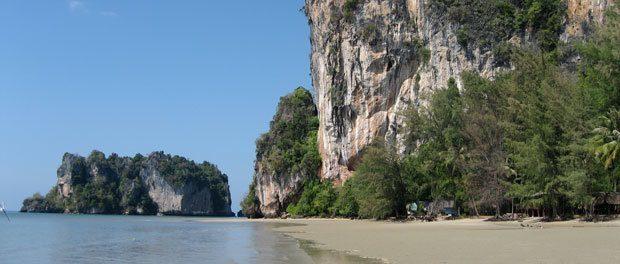 flot natur i thailand ved hat yao