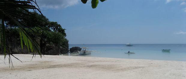 vores rejse til filippinerne med børn eller paradis - hvis strand og turkis vand