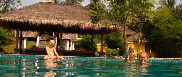 poolen på yao yai hvor vi brugte megen tid