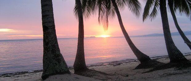 en flot solnedgang trods alt på siquijor