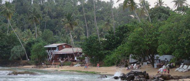 skøn skøn strand stemning i mirissa