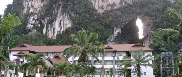 et fint hotel i ao leuk tror vi var de eneste gæster