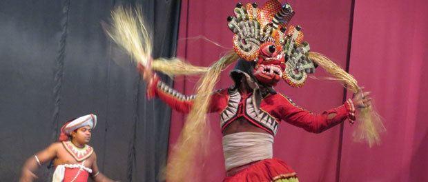 kandyan dance skal opleves hvis man rejser til sri lanka