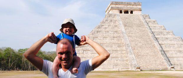 maya pyramide i mexico