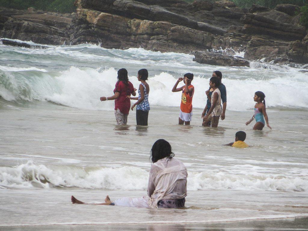 de lokale ved stranden