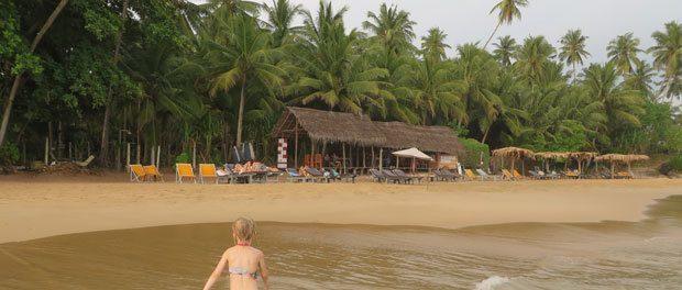 goyambokka beach var den bedste strand på sri lanka