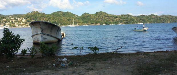 et hurtigt besøg med børnene på den dominikanske republik