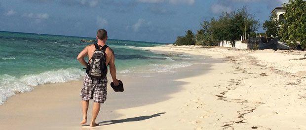 en smuk bountyø i caribien