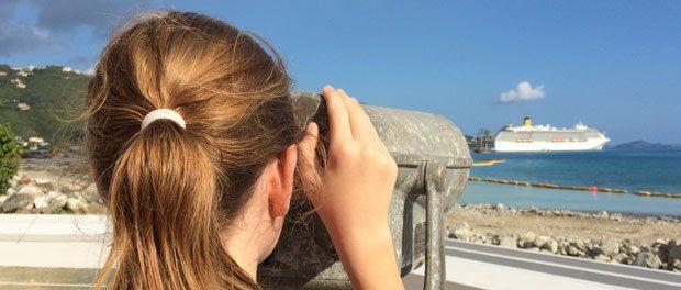 farvel til krydstogten i caribien med blandede oplevelser