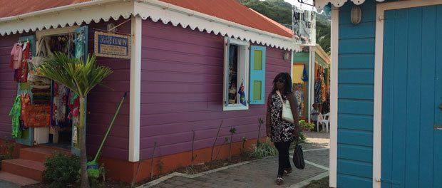 en tur rundt i tortola i caribien