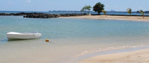 dejligt sted at bade med børn på mauritius