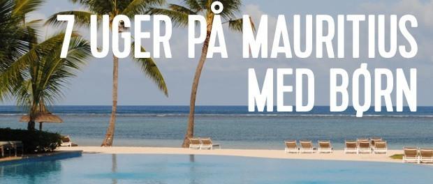 holdte barsel på mauritius med boern
