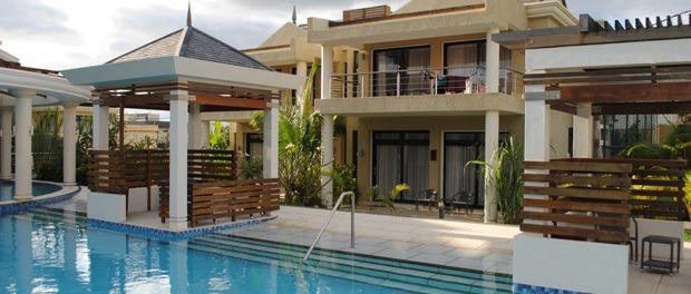 dejligt sted at bo med pool på mauritius