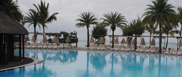 et dejligt 5-stjernet hotel på mauritius