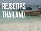 guide til når i skal rejser til thailand med børn