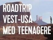 rejse til vest usa med teenagere