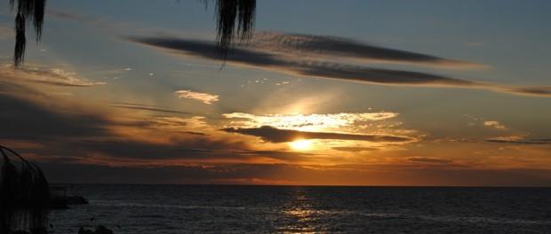 solnedgang i australien