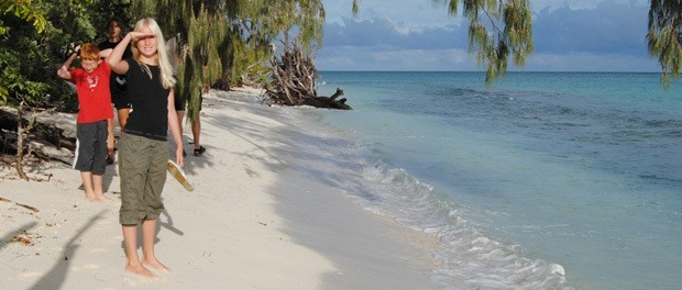 afslpaning på en bounty ø