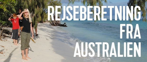 spændende rejseberetning fra australien