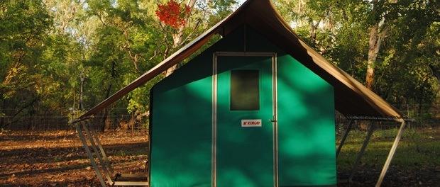 en god måde at opleve australiens natur ved at sove i telte