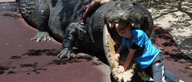 steve irvings krokodille park i sydney