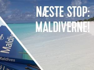 det bliver spændende at rejse til maldiverne
