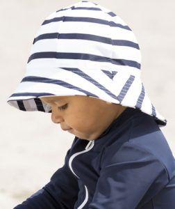 solhat som beskytter mod UV stråler til små børn