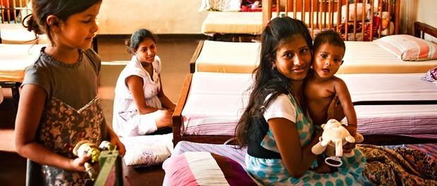 børnehjemmet på sri lanka
