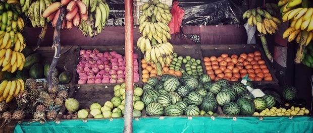spændende mad og frugt på sri lanka