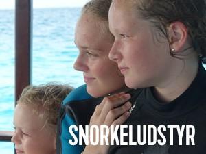 snorkeludstyr