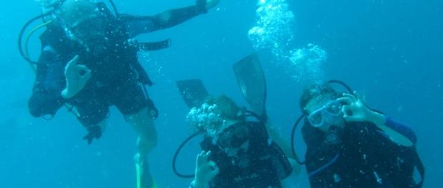 dykning på maldiverne