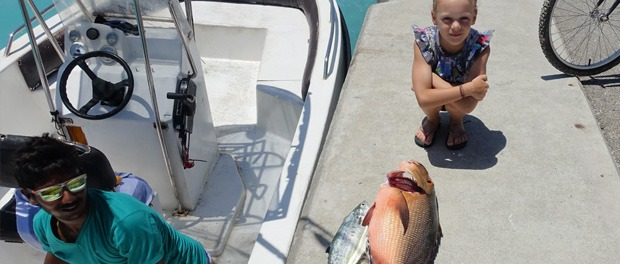 fiskning på maldiverner er en god oplevelse