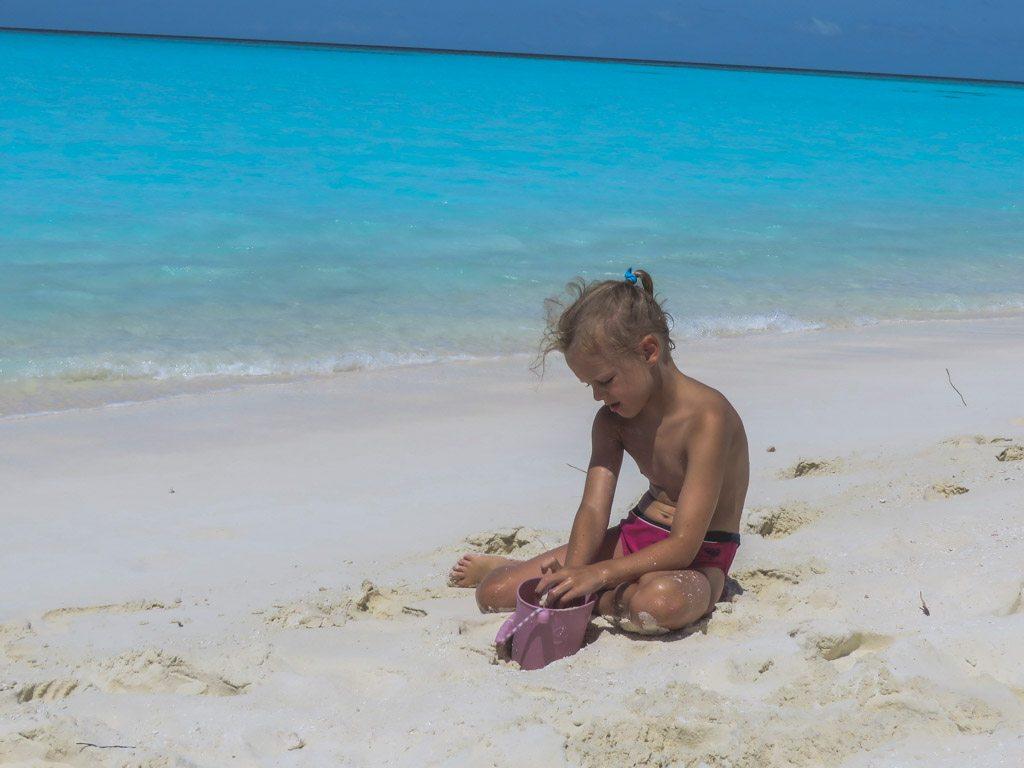bjork hygger ved stranden