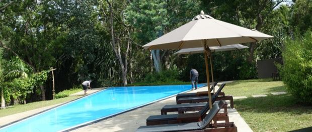 poolen ved palm paradise ligner sig selv