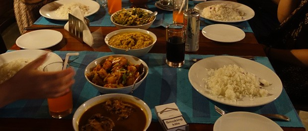 god rice and curry i sri lanka