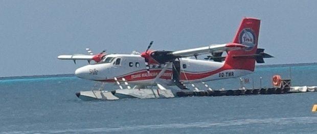 vandflyvning på maldiverne
