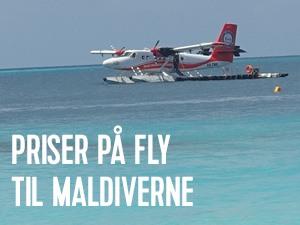 billige flybilletter til maldiverne