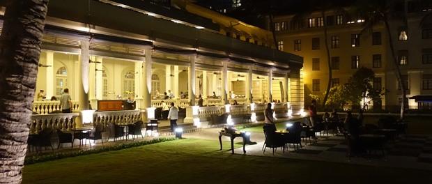 restauranten om aftenen