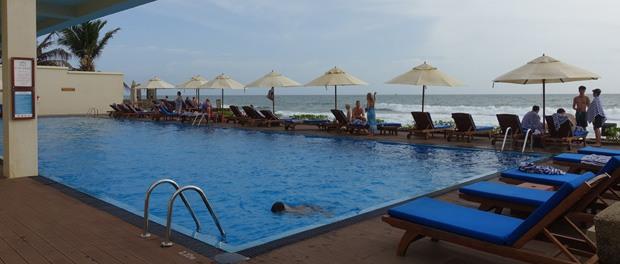 poolen med den flotte udsigt til det indiske ocean