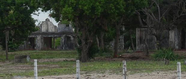 faldefærdige bygning fra efterkrigen