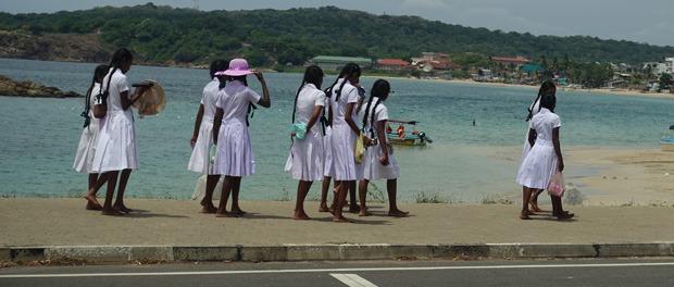 skolepiger i trincomalee