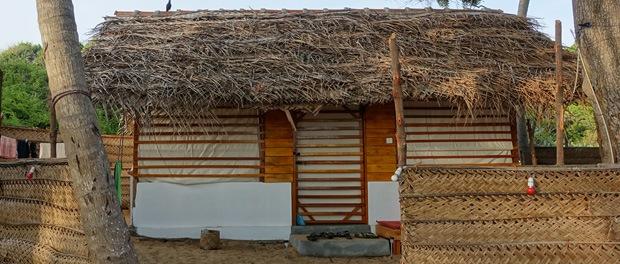 vores hytte ved upali beach resort på arugam bay