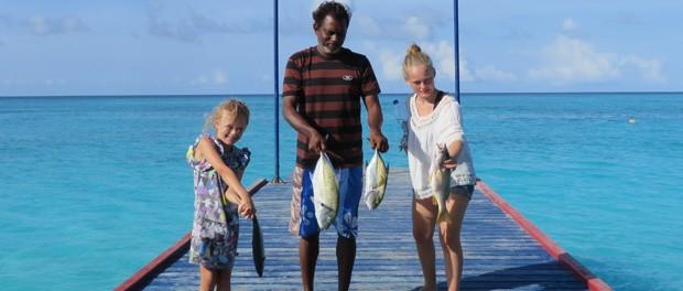 oplev en skøn fisketur på maldiverne