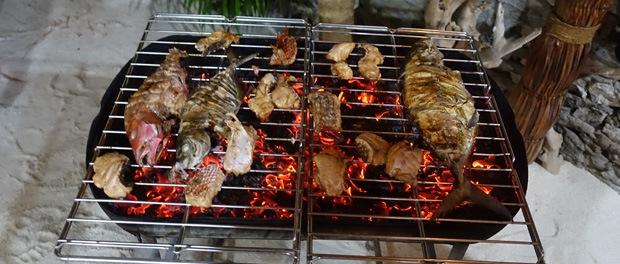 grill fisk på maldiverne