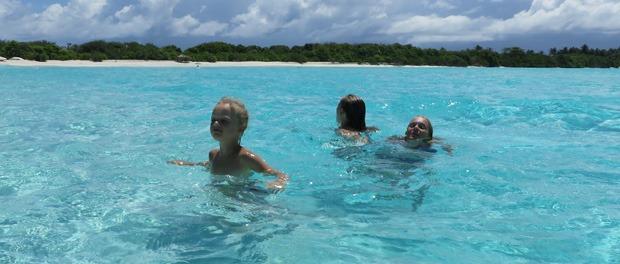 sæsonnen er altid god på maldiverne