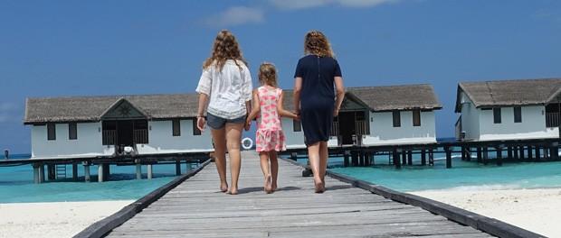 et resort skal opleves på maldiverne